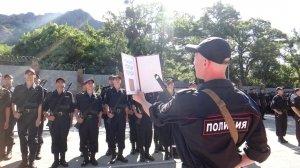 Фото принятия присяги в Краснокаменке #406