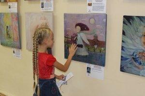 Фото выставки «Ангелы, к которым можно прикоснуться» в Феодосии #3883
