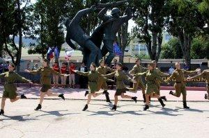 Фото митинга в честь 90-летия ДОСААФ России #2696