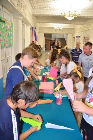 V Приморский фестиваль бумажных самолётиков #15171