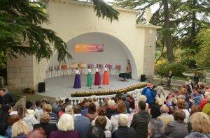 Осенний блюз танцуют хризантемы #14424