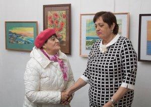 В зале музея было светло и уютно от позитивной ауры, которую создали верные друзья и поклонники творчества Натальи Васильевны.