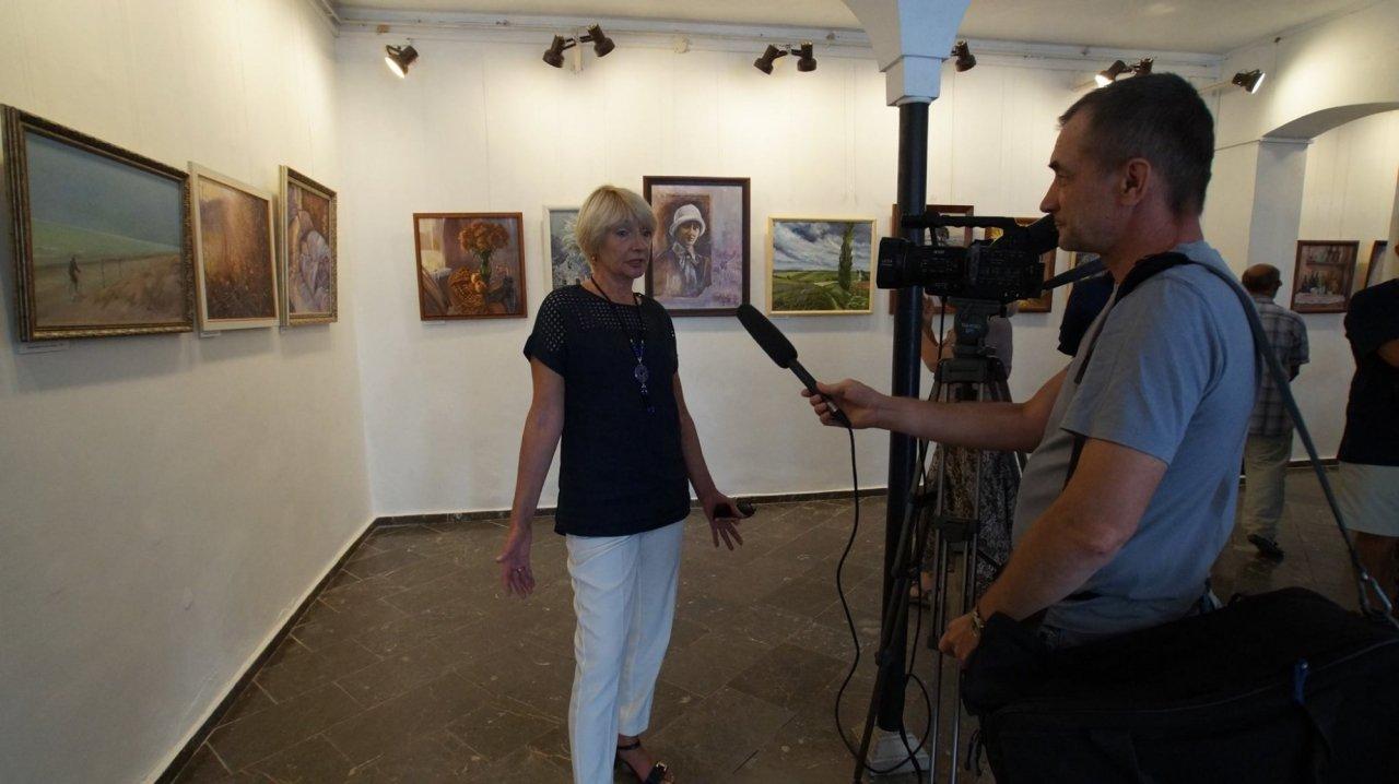 Фото открытия выставки Юшиной в музее ГРИНА #3392