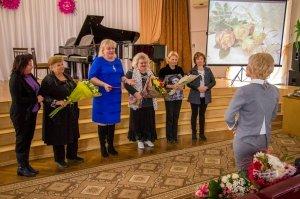 Фото празднования юбилея директора первой музыкальной школы Феодосии #5838
