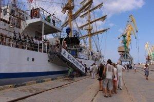 Фото парусного судна «Херсонес» в Феодосии #1197