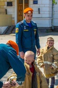 День пожарной охраны в Феодосии #8792