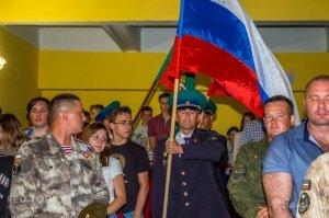 Собрание ко Дню пограничника в Феодосии #11547