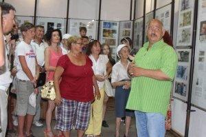 Фото выставки «Художники & банкноты» в Феодосии #733