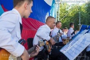 Фестиваль военных оркестров в Феодосии #12787