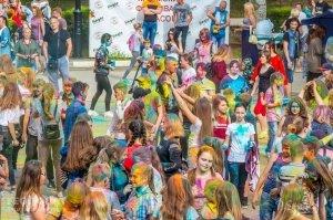 Фестиваль красок в Феодосии, май 2018 #11249