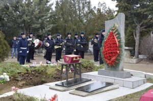 Фото траурной церемонии захоронения останков 35 бойцов Крымского фронта #6168