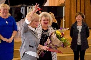 Фото празднования юбилея директора первой музыкальной школы Феодосии #5857
