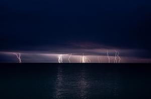 Молния в Феодосии #15457
