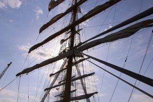 Фото парусного судна «Херсонес» в Феодосии #1183