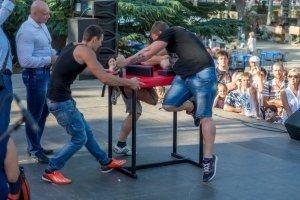 Фото турнира по армрестлингу в Феодосии #1297