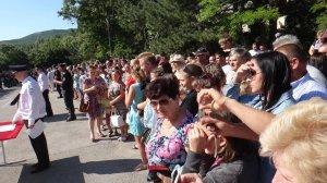 Фото принятия присяги в Краснокаменке #405