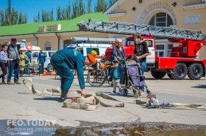 День пожарной охраны в Феодосии #8778