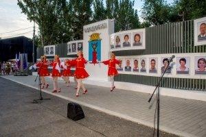 Фото торжественного открытия Доски почета в Феодосии #1071