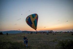 Фото фестиваля «Небо для всех» в Феодосии #3088