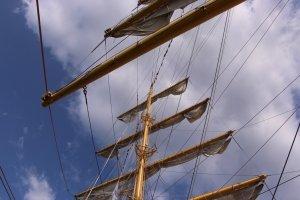 Фото парусного судна «Херсонес» в Феодосии #1192