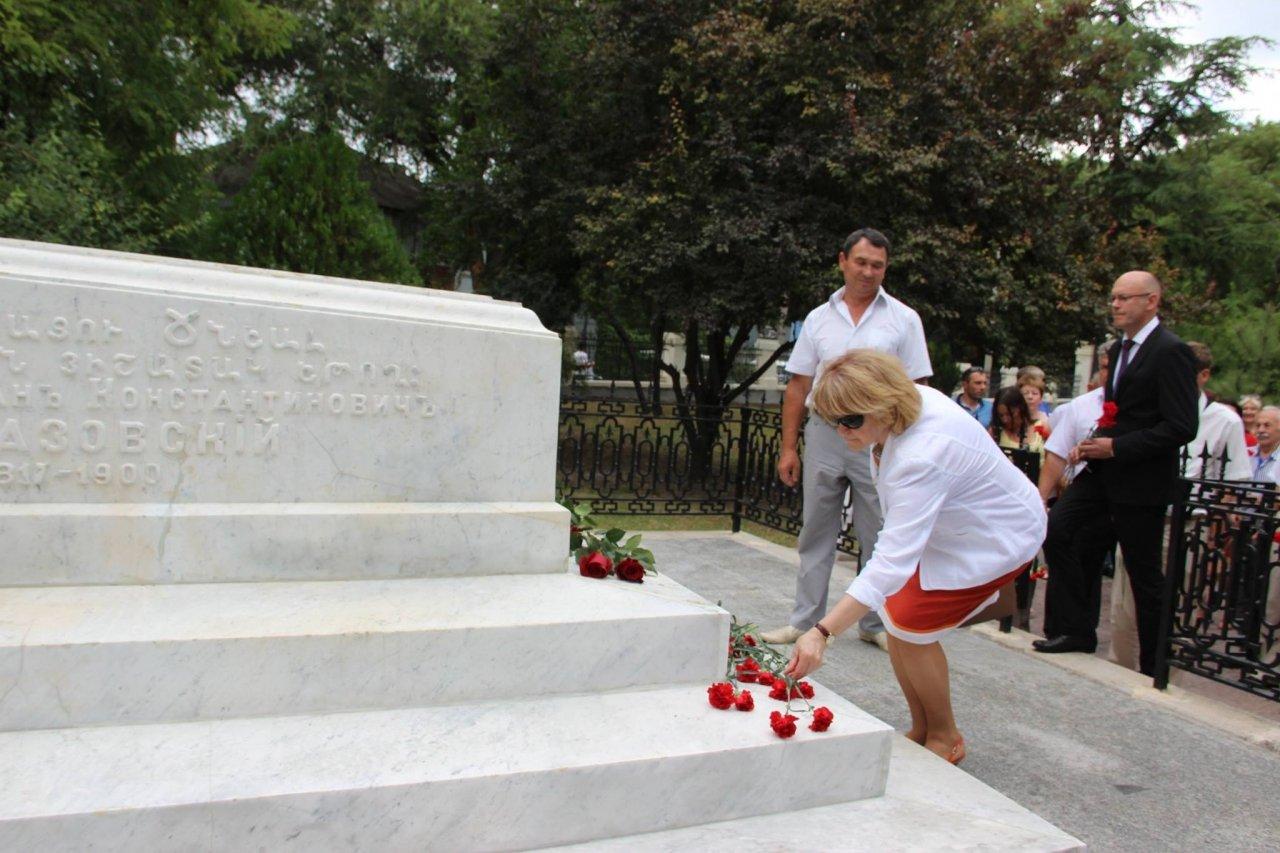 Фото почетных гостей на День города и юбилей Айвазовского в Феодосии #1115
