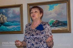 Открытие выставки «Морской пейзаж» в музее Грина #8070