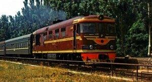 Пассажирский поезд. Старая Феодосия #7387