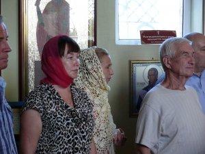 Фото принятия присяги казаками Феодосии в храме Архистратига Михаила #4298