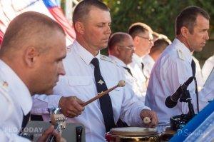 Фестиваль военных оркестров в Феодосии #12784