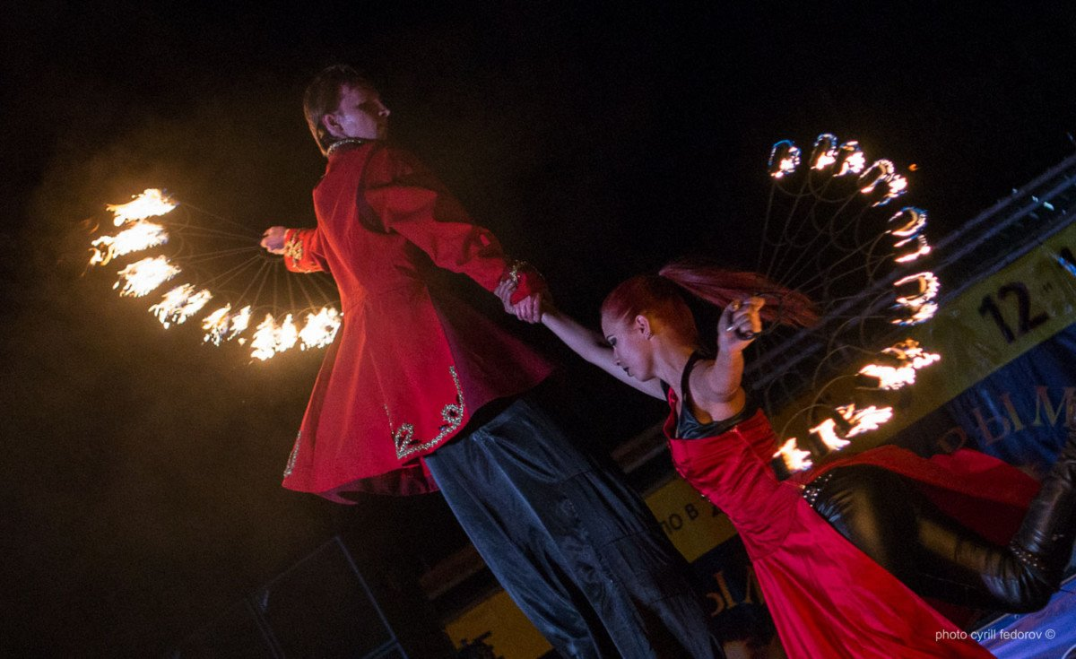 Фото фестиваля «Крым Fire-fest» в Коктебеле #2369