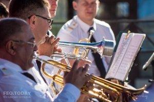 Фестиваль военных оркестров в Феодосии #12786