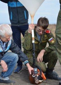 Фото соревнований по запуску парашютов в Феодосии #5317