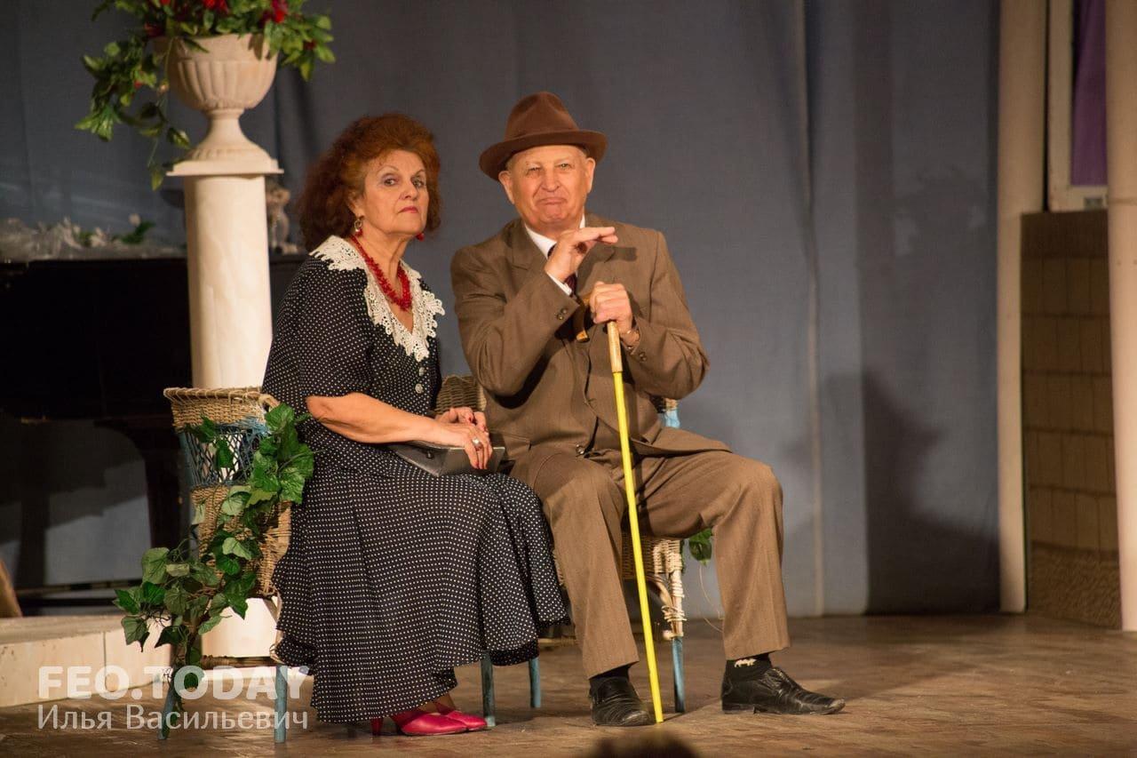 Спектакль «Немного нежности». Театр Беляновой, Феодосия #8671