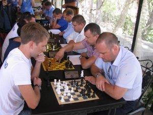Фото шахматного турнира в Феодосии #3372