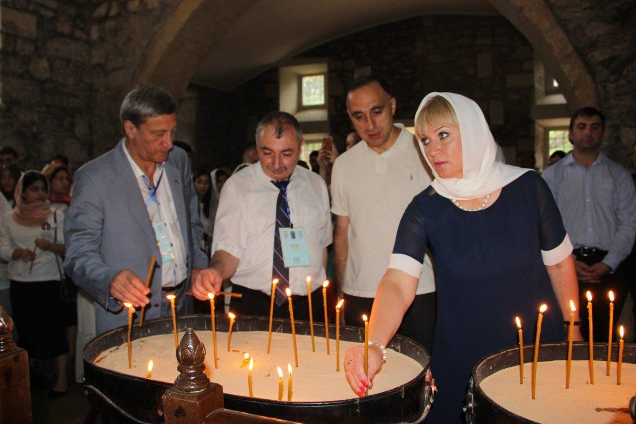 Фото почетных гостей на День города и юбилей Айвазовского в Феодосии #1110