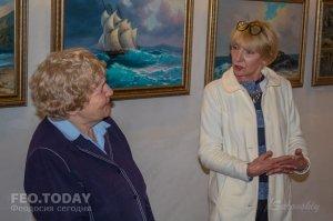 Открытие выставки «Морской пейзаж» в музее Грина #8078