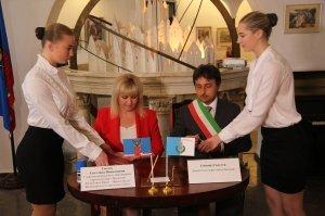 Фото итальянской делегации в Феодосии #206