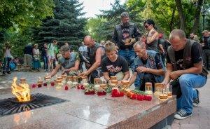 Ночные ВОЛКИ в Феодосии. Фото автомотопробега «Дорогами Победы» #2734