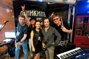 Группа GREEN в гранд-кафе «Деникин» #13874