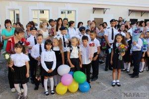 Первый звонок в Феодосии, школа №3 #15369