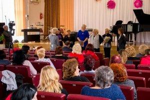 Фото празднования юбилея директора первой музыкальной школы Феодосии #5843