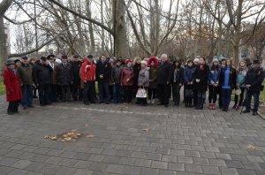 Фото митинга в честь Дня Героев Отечества в Феодосии #6221