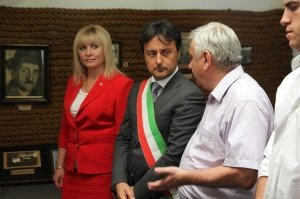 Фото итальянской делегации в Феодосии #199