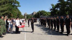 Фото принятия присяги в Краснокаменке #387