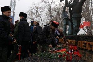 Фото митинга в память о Керченско-Феодосийском десанте #6476