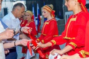 Фото торжественного открытия Доски почета в Феодосии #1079