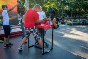 Фото турнира по армрестлингу в Феодосии #1291