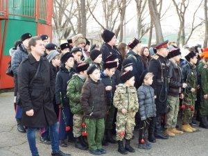 Фото митинга в честь Керченско-Феодосийского десанта в Феодосии #6447