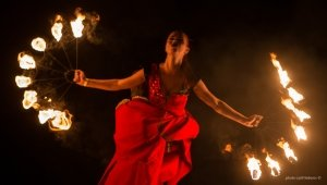 Фото фестиваля «Крым Fire-fest» в Коктебеле #2370