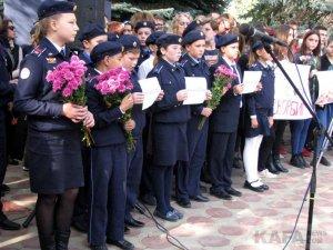 Феодосийцы почтили память жертв трагедии в керчи #14348
